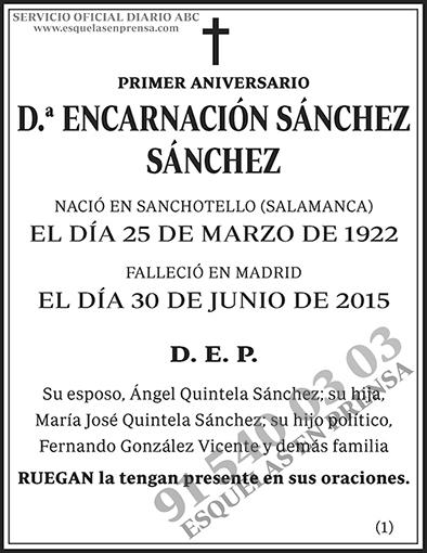Encarnación Sánchez Sánchez